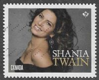 Canada 2014 Canadian Country Artists P Shania Twain good/fine used